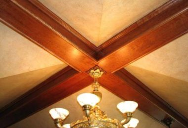 Finishing Chicago – Faux Finish – Beams and Woodwork – Stained, Sealed and Varnished